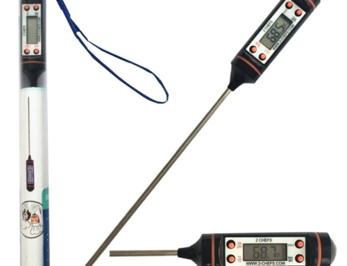2 Chefs Digital Meat, BBQ and Candy Thermometer, Great for the Kitchen Indoors and Cooking Outdoors
